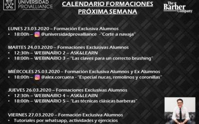 CLASES DIARIAS DESDE TU CASA!